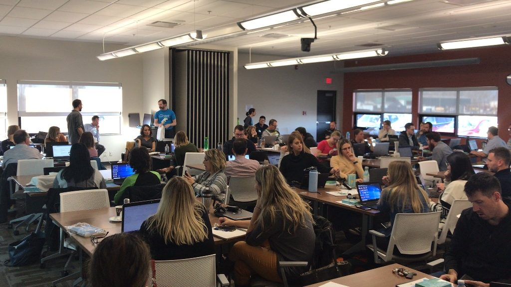 KCJ - Code Create Teach - Teachers Coding Workshop Oct 2019 - photo courtesy of RDIEC